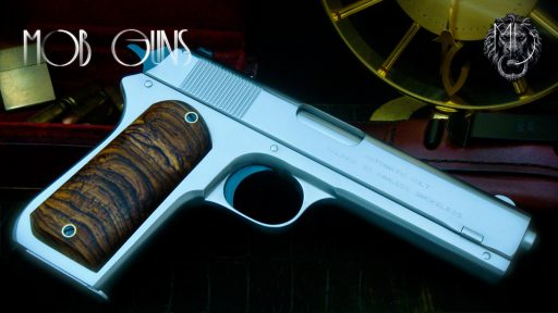 "MOB GUNS ""BIG AL"" Colt 1903 Satin Cocobolo"