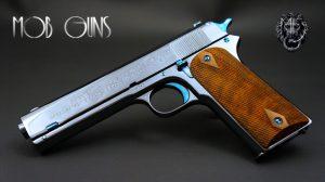 """MOB GUNS """"BIG AL"""" Colt 1905 Military 45 Blue"""