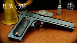 """MOB GUNS """"BIG AL"""" Colt Military 45 Blue"""