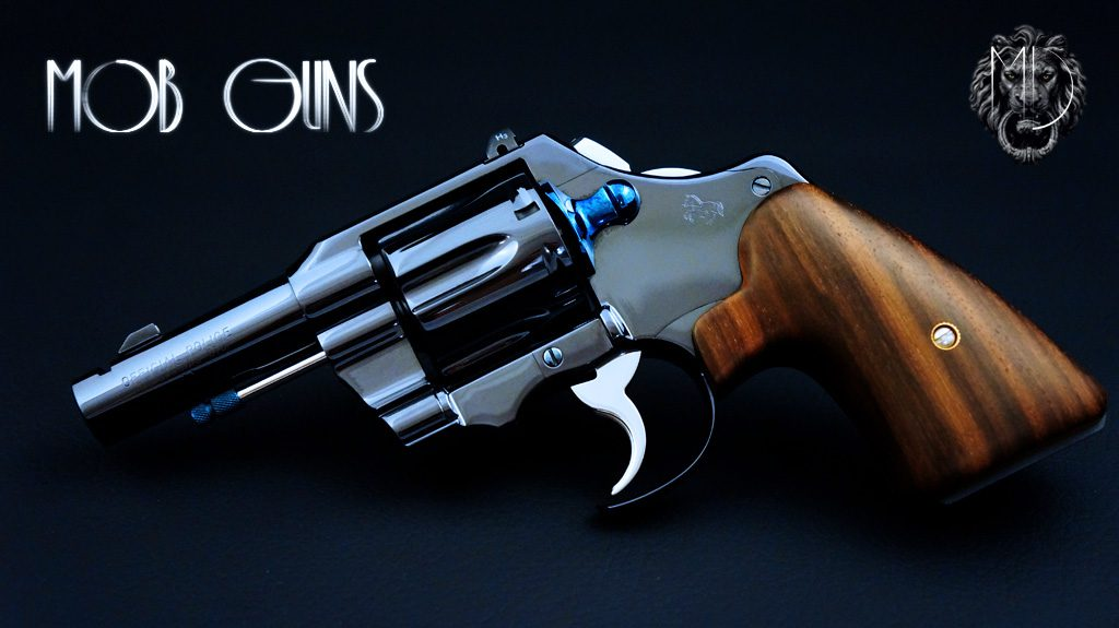 MOB GUNS Colt Fitz Special Official Police