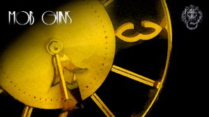 MOB GUNS Art Deco Clock