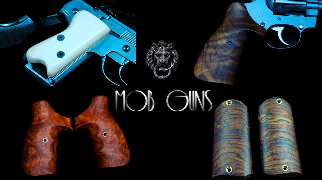 MOB GUNS STOCKS Ivory English Walnut CocoBolo Mother of Pearl