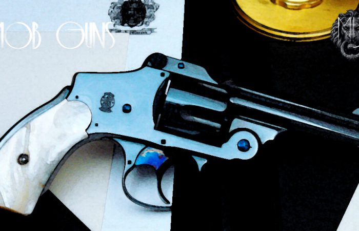 "MOB GUNS ""LUCKY"" S&W New Departure LUCKY Blue Mother of Pearl"