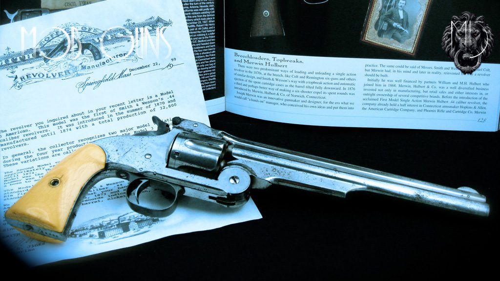 "MOB GUNS ""UNTOUCHABLES"" Smith & Wesson Model 3 American 44 original"