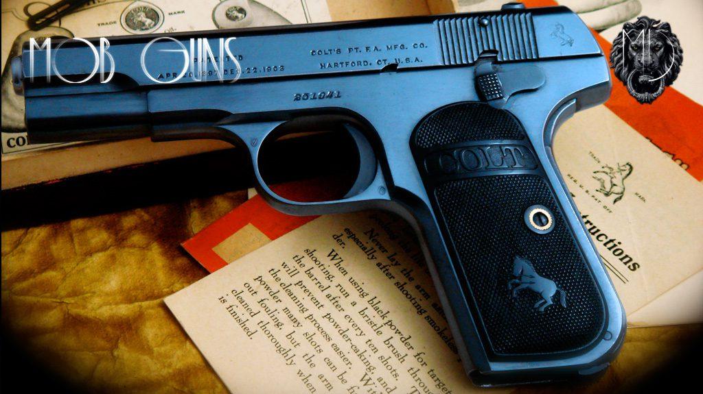 Colt Model M Pocket Hammerless .32 ACP Full Box Set