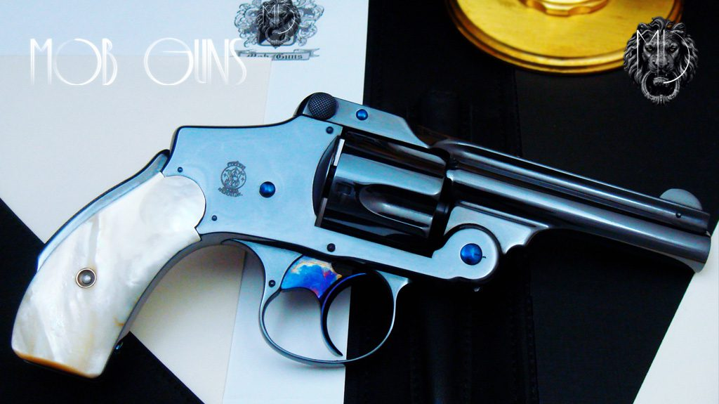 S&W New Departure LUCKY Blue Mother of Pearl