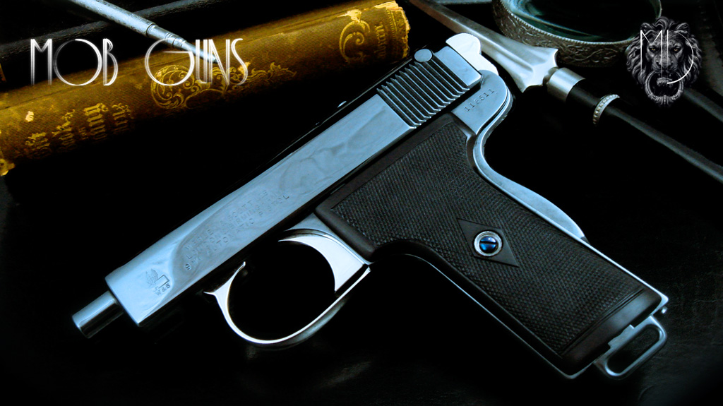 MOB GUNS Webley Automatic 9mm Blue