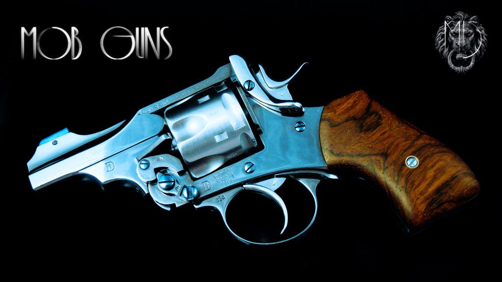 MOB GUNS Webley Mk VI Baby Blue Pinto