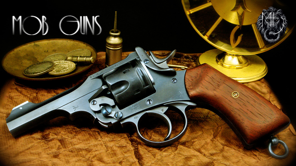 MOB GUNS WEBLEY MK VI Blue